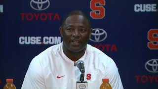 Dino Babers vs Uconn Post Game
