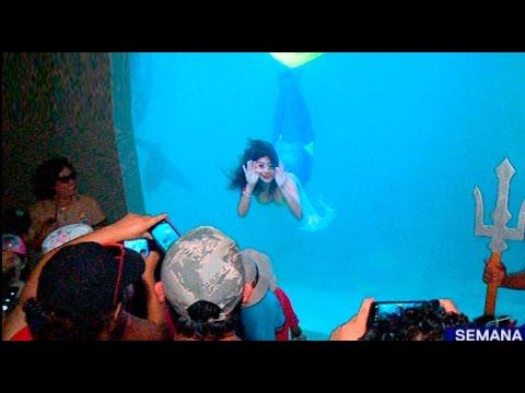 Sirenas en Lima, atracción del Zoológico de Huachipa