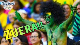 As MAIORES ZUERAS da torcida BRASILEIRA nas Olimpíadas