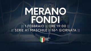 Serie A1M [16^]: Merano - Fondi 28-28