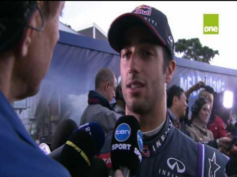Daniel Ricciardo Post qualifying interview 2014 Australian Grand Prix