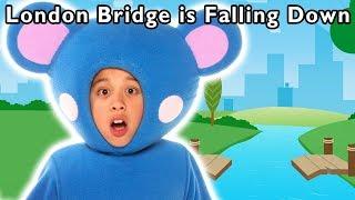 🔴 LIVE: London Bridge is Falling Down & More | Mother Goose Club Nursery Rhymes for Kids
