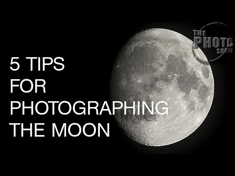 5 Tips For Photographing The Moon
