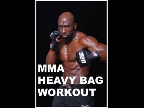 HEAVY BAG WORKOUT FOR MMA Image 1