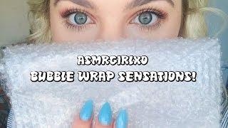 ASMR | 4K | Whispering, tapping & bubble wrap! | ASMRgirlxo