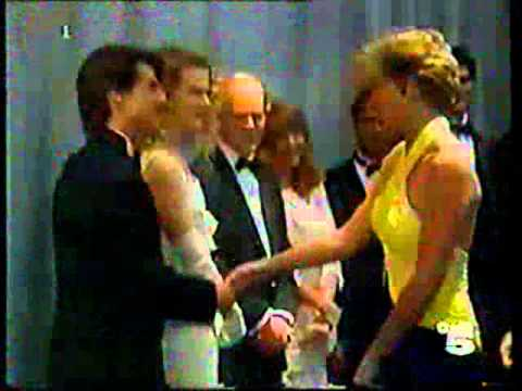 Princess Diana meets Tom Cruise & Nicole Kidman