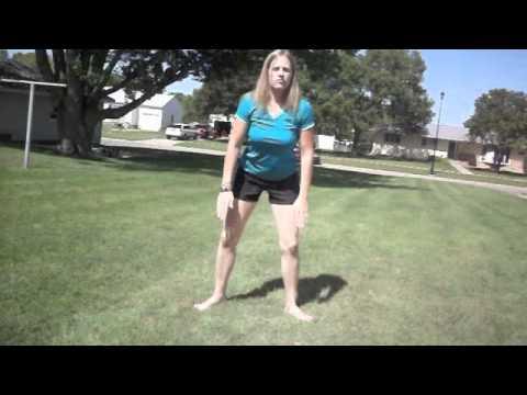 4. Deep Squat Hip Stretch