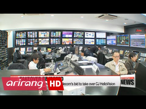 Antitrust watchdog rejects SK Telecom's bid to take over CJ HelloVision