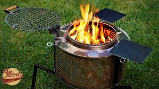 Building a Fire Pit / Grill from Scrap materials