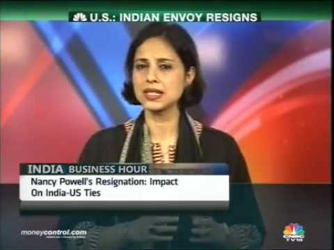 US Ambassador to India Nancy Powell resigns