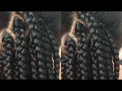 Gripping The Roots  Detailed Tutorial For Box Braids Step By Step Guide
