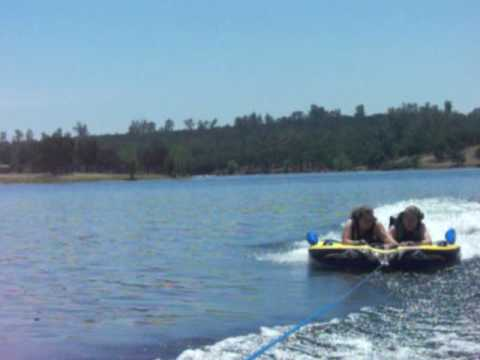 Ellen and Mom tubing