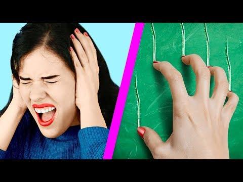 Неприятные звуки против приятных – Челлендж 7 идей