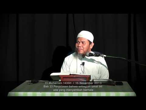 Bab 23 Bahwa Sebagian Umat Ini Ada Yg Menyembah Berhala 15112013 - Ustadz Abu Haidar Assundawy