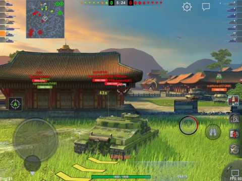 World of Tanks Blitz - Platooning with realRichard (Tortoise + ST-I)