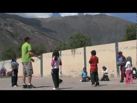 Teaching Sports in Peru
