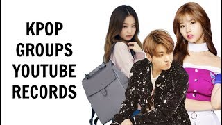 Download Lagu KPOP GROUPS YOUTUBE RECORDS | April 2018 Gratis STAFABAND