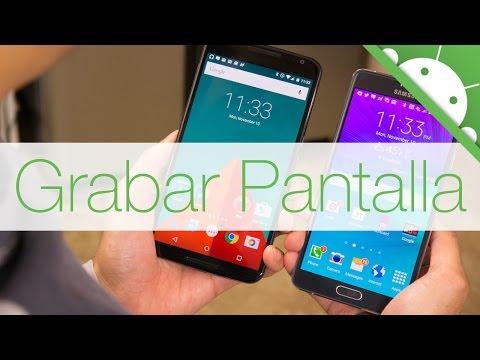 Grabar la Pantalla en Android SIN ROOT y SIN PC