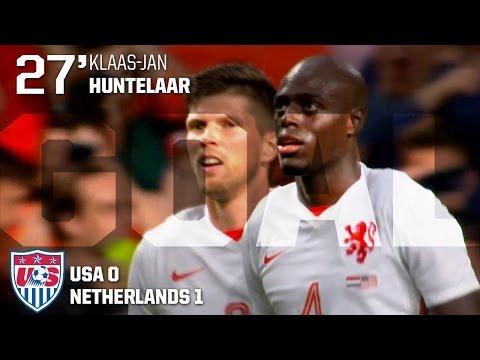MNT vs. Netherlands: Klaas-Jan Huntelaar Goal - June 5, 2015