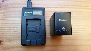 Canon XF 400 USB charging option?
