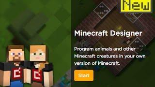 Code.org, The Hour of Code, 'Minecraft' | Designer |