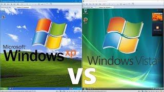 Comparing Windows XP to Windows Vista