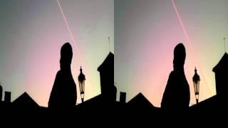 Čůrající pánové od Davida Černého ve 3d sbs - Pissing Man ráno 17.3.2012
