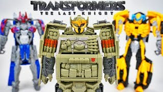 Transformers The Last Knight Armour Hound with Optimus Prime Megatron and Bumblebee