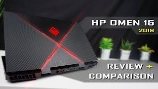 2018 HP Omen 15 Gaming Laptop Review & Comparison / i7-8750H, GTX 1060, 144Hz (detailed)