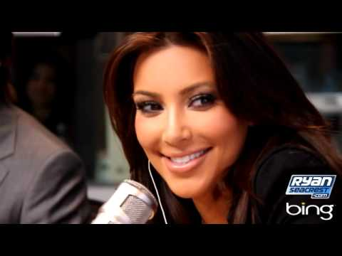 """SUBSCRIBE: http://full.sc/UBDdWt While visiting Ryan Seacrest's radio show Tuesday, Kim Kardashian doesn't kiss and tell about her rumored relationship with..."