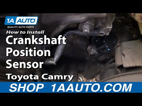 How To Install Replace Crankshaft Position Sensor Toyota Camry 3.0L V6 1AAuto.co