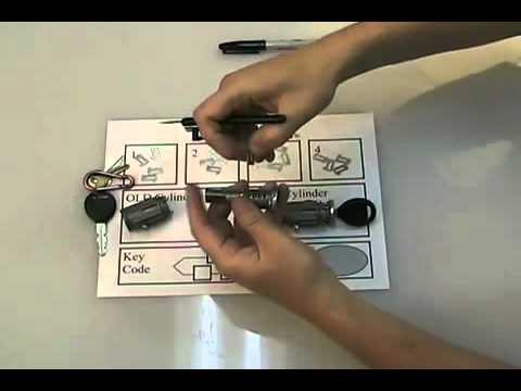Pt Cruiser Ignition Lock Cylinder Key Youtube