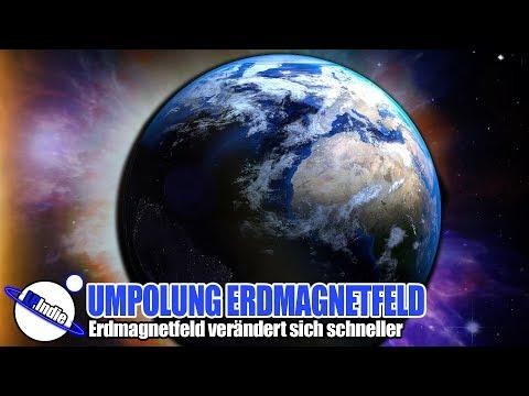 Umpolung Erdmagnetfeld - Erdmagnetfeld verändert sich schneller - Zahlen und Fakten 2019