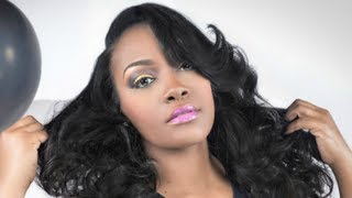 Traditional Sew In: How To Get Amazing Curls With Flat Irons!!!!!
