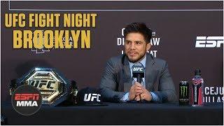 Henry Cejudo Post-Fight Press Conference | UFC Fight Night: Brooklyn | ESPN MMA