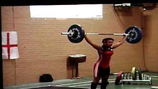 Zoe Smith - Weightlifting at 13 - 66 Kg Snatch @ 53 Kg Bodyweight British Record