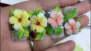 Dạy vẽ hoa bột #hoa fantassy