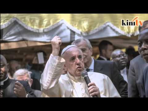 Pope Francis becomes Internet rapper with #PopeBars