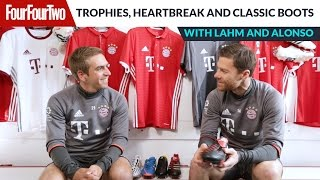 Philipp Lahm and Xabi Alonso | Trophies, heartbreak and classic boots