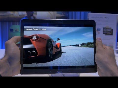 Samsung Galaxy Tab S 10.5 Hands On