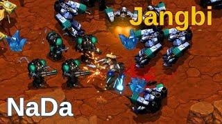 Jangbi (P) vs NaDa (T) - Gran capacidad de reacción - Starcraft remastered