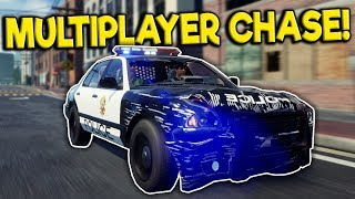 Idiots get into a Police Chase & Crash! - Police Simulator: Patrol Duty Multiplayer Gameplay