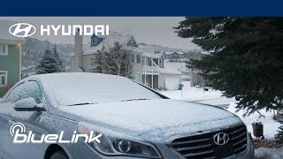 Hyundai Blue Link® | How-To | Remote Lock, Unlock and Start in Cold Weather