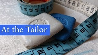 English Conversation: At the Tailor