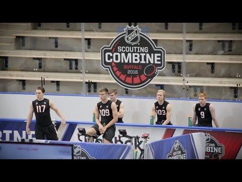 2016 NHL Combine Fitness Testing
