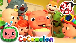 One Potato, Two Potatoes + More Nursery Rhymes - CoCoMelon