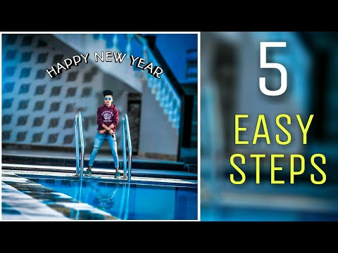 Happy New Year - 2018 || PicsArt Photo Editing |Free Manipulation cb Background For Editing