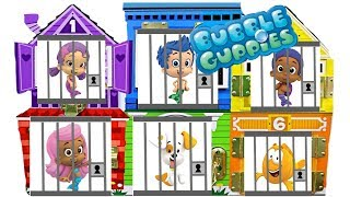 Best Learning Colors Video for Children with Bubble Guppies Gumball Jail Rescue | Fizzy Fun Toys
