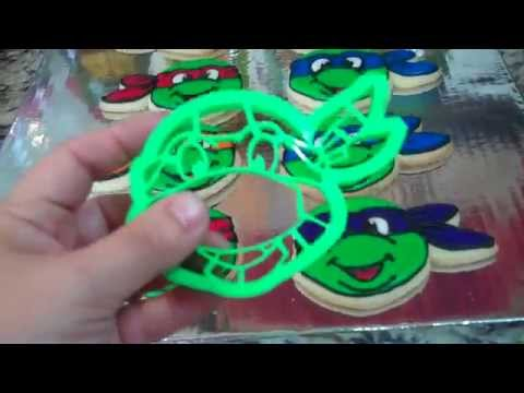Teenage Mutant Ninja Turtle Cookie Cutter Review