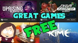 New Fanatical Bundles! || + Free Games Rime & Jalopy